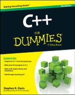 C++ For Dummies : For Dummies (Computers) - Stephen R. Davis