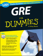 1,001 GRE Practice Questions For Dummies with Free Online Practice : For Dummies - Consumer Dummies
