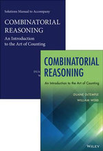 Combinatorial Reasoning : An Introduction to the Art of Counting Set - Duane DeTemple