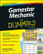 Gamestar Mechanic For Dummies : For Dummies (Computers) - Jacob Cordeiro