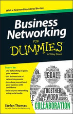 Business Networking For Dummies - Stefan Thomas