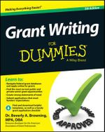 Grant Writing For Dummies - Beverly A. Browning