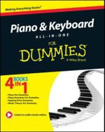 Piano and Keyboard All-in-one For Dummies - Consumer Dummies
