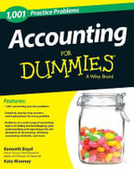 1,001 Accounting Practice Problems For Dummies - Kenneth Boyd