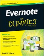 Evernote For Dummies - David E. Y. Sarna