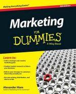 Marketing For Dummies - Alexander Hiam