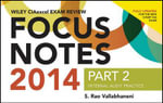 Wiley CIAexcel Exam Review 2014 Focus Notes : Internal Audit Practice Pt. 2 - S. Rao Vallabhaneni