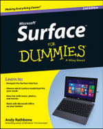 Surface For Dummies : For Dummies - Andy Rathbone