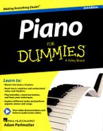 Piano For Dummies : Book + Online Video & Audio Instruction : 3rd Edition - Hal Leonard Publishing Corporation