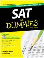 SAT For Dummies, with Online Practice Tests - Geraldine Woods