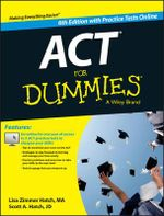 Act for Dummies, with Online Practice Tests - Lisa Zimmer Hatch