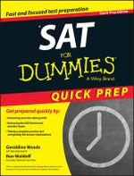 Sat For Dummies, 2015 Quick Prep Edition - Geraldine Woods