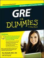 GRE For Dummies : With Online Practice Tests - Ron Woldoff