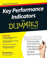 Key Performance Indicators For Dummies - Bernard Marr