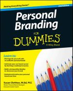 Personal Branding For Dummies : 2nd Edition - Susan Chritton