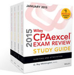 Wiley CPAexcel Exam Review 2015 Study Guide January : Set - O. Ray Whittington