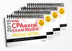 Wiley CPA Excel Exam Review 2015 Focus Notes : 4-Volume Set - Wiley