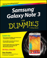 Samsung Galaxy Note 3 for Dummies - Dan Gookin