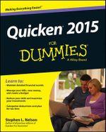 Quicken X For Dummies - Stephen L. Nelson