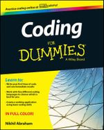 Coding For Dummies : For Dummies (Computers) - Nikhil Abraham
