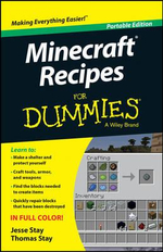 Minecraft Recipes For Dummies - Jesse Stay