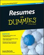 Resumes For Dummies - Joyce Lain Kennedy