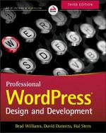 Professional WordPress : Design and Development - Brad Williams