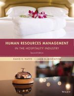 Human Resources Management in the Hospitality Industry - David K. Hayes