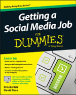 Getting a Social Media Job For Dummies - Brooks Briz