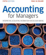 Accounting for Managers - Paul M. Collier