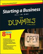 Starting a Business All-in-One For Dummies - Consumer Dummies