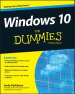 Windows 10 For Dummies - Andy Rathbone