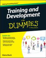 Training & Development For Dummies - Elaine Biech