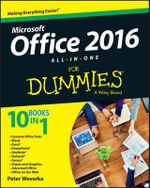 Office 2016 All-in-One For Dummies - Peter Weverka