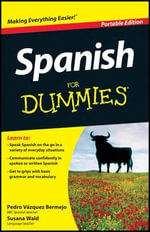 Spanish for Dummies : UK Portable Edition - Pedro Vazquez Bermejo