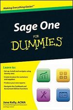 Sage One For Dummies - Jane Kelly