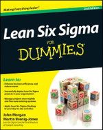 Lean Six Sigma For Dummies - John Morgan