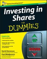 Investing in Shares for Dummies : 2nd Edition - Nancy Stevenson