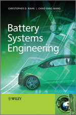 Battery Systems Engineering : Theory and Applications - Christopher D. Rahn