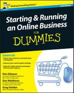 Starting and Running an Online Business for Dummies - Kim Gilmour
