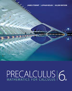Bundle : Precalculus: Mathematics for Calculus, 6th + Mathematics CourseMate with eBook Printed Access Card - James Stewart