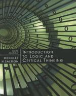 Introduction to Logic and Critical Thinking - Merrilee H Salmon