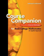ECompanion for Basic College Mathematics : An Applied Approach - Richard N. Aufmann