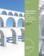 Mathematical Applications For The Management, Life, And Social Sciences - Ronald J. Harshbarger