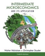 Intermediate Microeconomics and its Application - Walter Nicholson