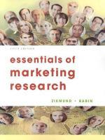 Essentials of Marketing Research - William G Zikmund