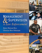 Bundle : Management and Supervision in Law Enforcement + CourseMate with eBook Printed Access Card - Wayne Bennett