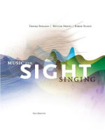 Music for Sight Singing - Chair of the Department of Music Theory Thomas E Benjamin