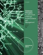 Database Principles : Fundamentals of Design, Implementation, and Management - Stephen Morris