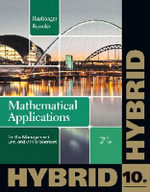 Mathematical Applications for the Management, Life, and Social Sciences - Ronald J Harshbarger